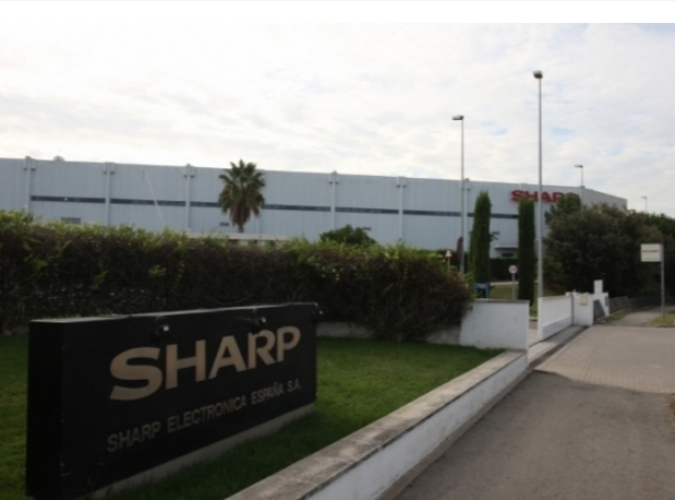 Sharp estava ubicada a Sant Cugat