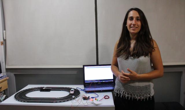 Elisabet Farré, cofundadora de la startup per a 'smart cities'