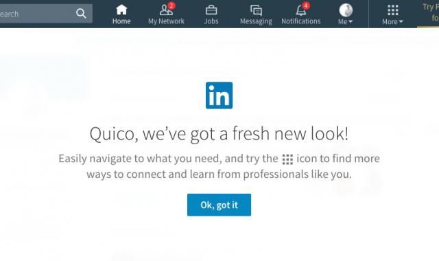 LinkedIn renova completament la seva imatge