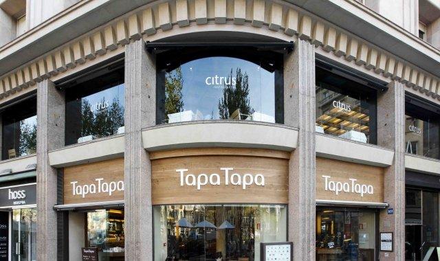 Tapa Tapa va ser el primer restaurant del grup format per Artemi Nolla