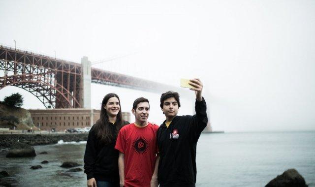 Elsa Rodríguez, Àlex Sicart i David Andrés han pogut passar un mes a Silicon Valley amb el programa Imagine