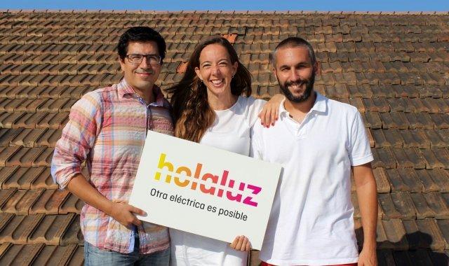 Els fundadors de l'elèctrica Holaluz