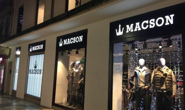 Una de les botigues de Macson