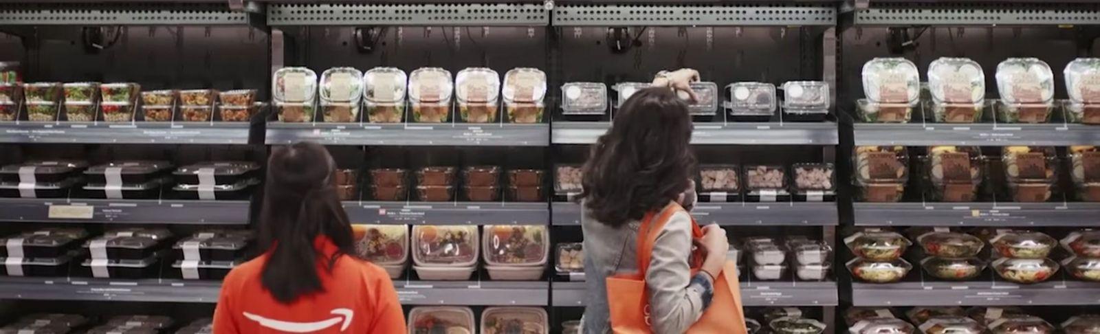 El supermercat, anomenat Amazon Go, no funciona com la típica botiga