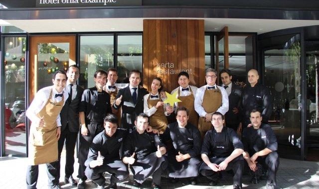 El Xerta (Barcelona) és un dels restaurants catalans que acaba d'estrenar estrella Michelin
