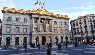 La façana de l'Ajuntament de Barcelona