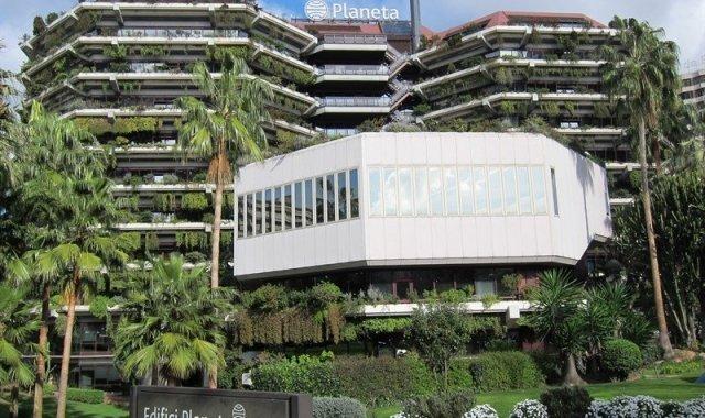 La seu del Grup Planeta a Barcelona