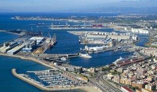 Vista aèria del Port de Tarragona