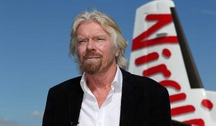 Richard Branson, fundador de Virgin Atlantic Airlines