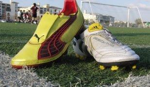 Unes sabates esportives Puma i Adidas