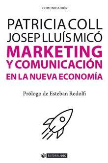 Portada del llibre 'Marketing y comunicación en la nueva economía'