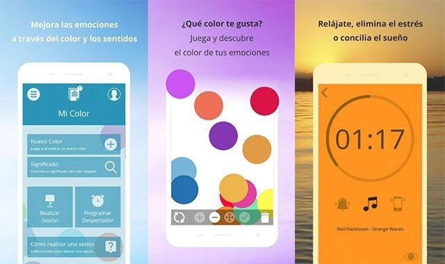 L'app Colors&NeilHarbisson