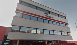 La planta d'Aritex a Badalona