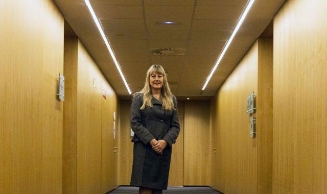 María Helena de Felipe, presidenta de Fepime, confia recuperar aviat les cadires perdudes a les taules de negociació amb Govern i sindicats
