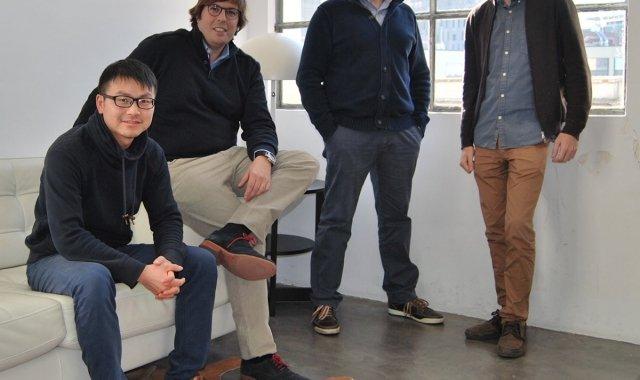 L'equip fundador està format per quatre socis de l'àmbit empresarial i tecnològic