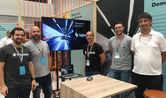 L'equip de Bybus a l'Innovation Day | MEM