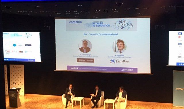 Telefónica i Caixabank debaten sobre la transició a l'ecosistema del retail | Comertia