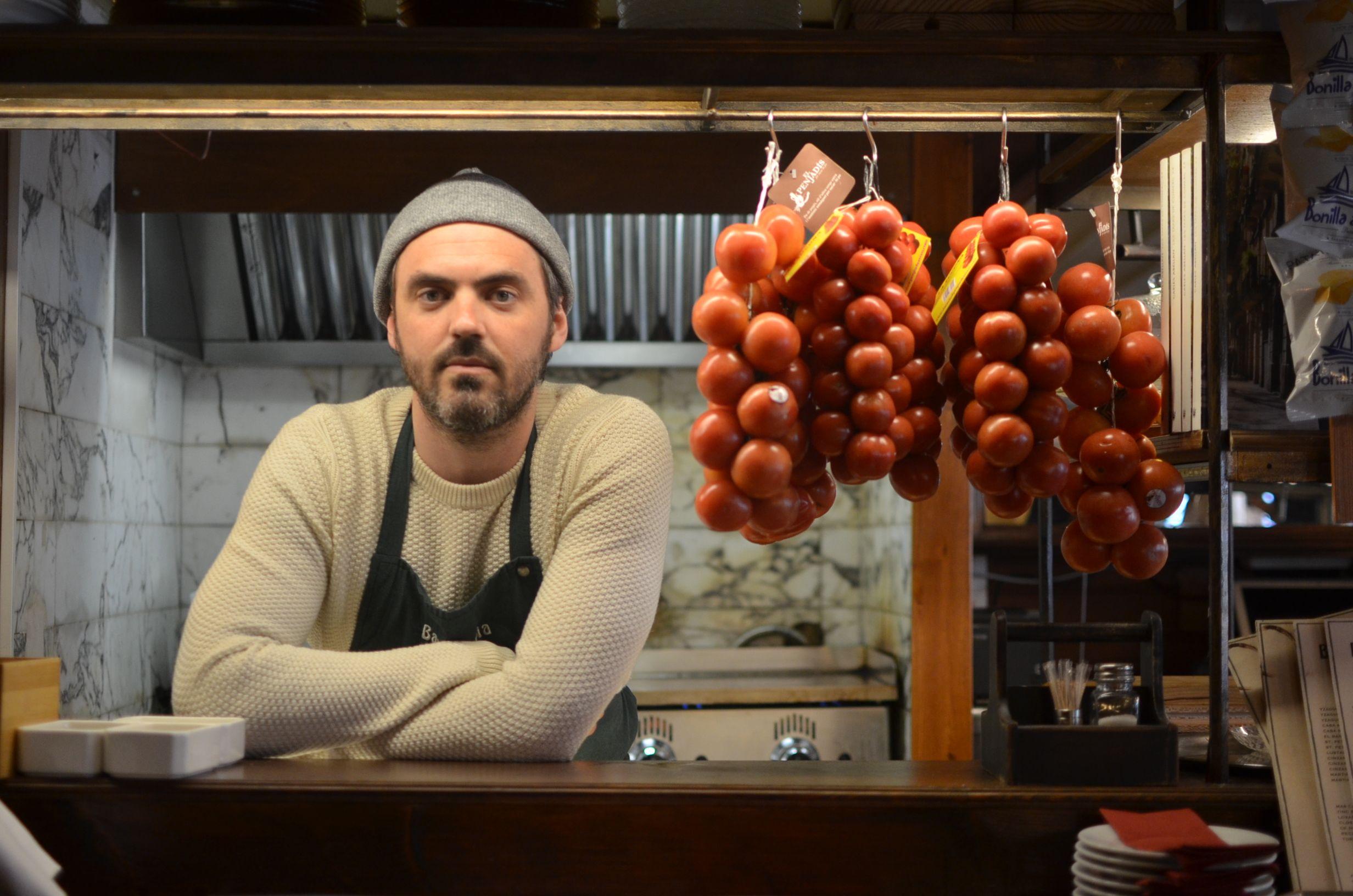 Tomás Abellán, el propietario del Bar Alegría | Cedida
