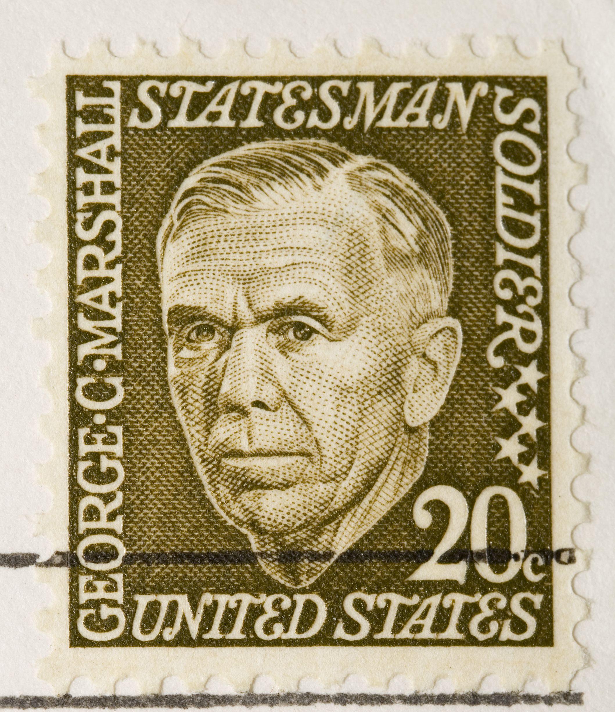 Un segell amb el rostre de Marshall | iStock