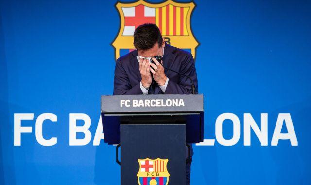 Leo Messi comiat EP