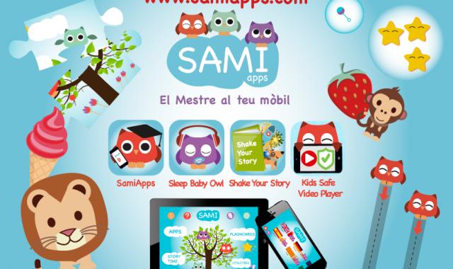 Sami Apps suma diferents aplicaciones per a nens