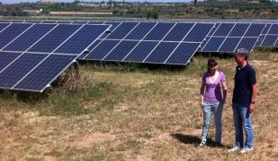 Plantes fotovoltaiques de Som Energia