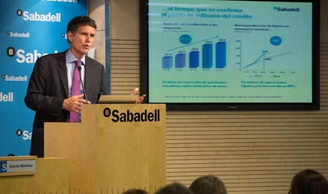 Jaume Guardiola, conseller delegat de Banc Sabadell
