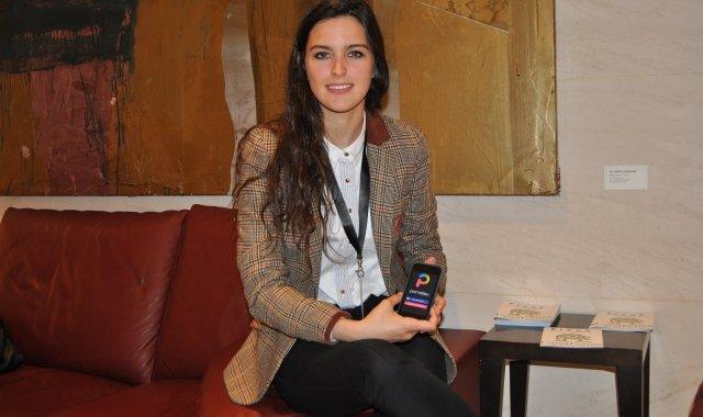 Abans d'acabar els estudis universitaris, Sara Giménez ja ha situat Prometteo a l'AppStore