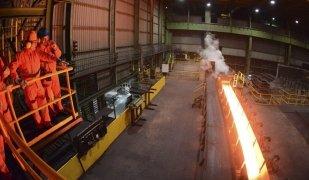Una de les fàbriques d'acer de CELSA