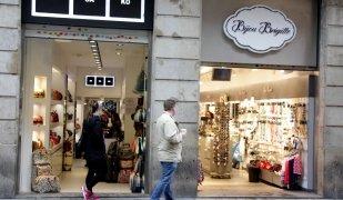 Portal de l'Àngel, principal eix comercial de la ciutat de Barcelona
