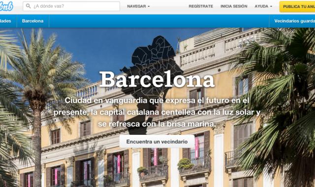 Airbnb perilla a Barcelona