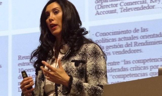La Conferenciant Laura Cantizano