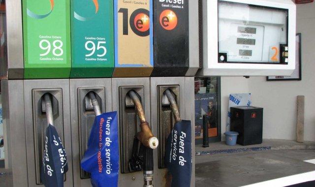 El preu dels carburants influencia sobre la inflació