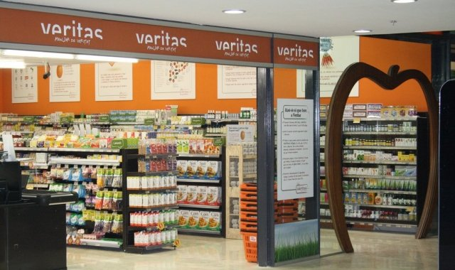 Veritas is one of the shops that sells organic produce