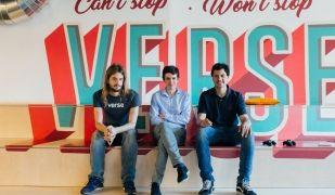 Dario Nieuwenhuis, Borja Rossell i Àlex Lopera són els tres fundadors de Verse