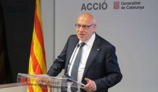 Jordi Baiget en la presentació de l'informe