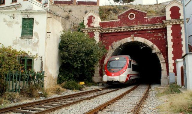 El túnel de Rodalies Renfe a Sant Pol de Mar