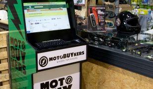 Amb aquest punt de servei ja s'ha instal·lat Motobuykers.com en una botiga d'Alacant