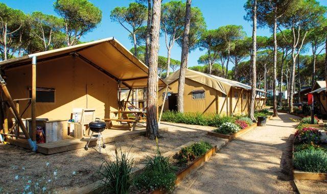 Un dels càmpings pioners és el Cypsela Resort de Pals, al Baix Empordà