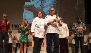Imatge de l'entrega de premis del concurs Tapa de l'Any de Catalunya
