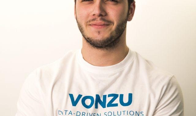 El COO i cofundador de Vonzu, l'economista Mario Martínez