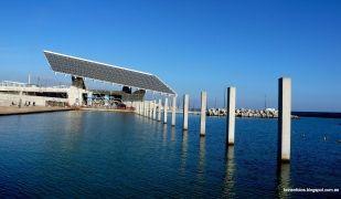 La placa fotovoltaica del Fòrum de Barcelona