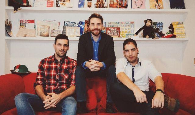 Els fundadors de la startup Waynabox