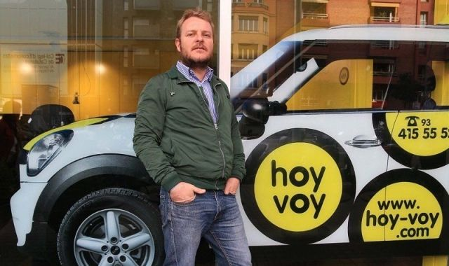 Carlos Duran va fundar el 2012 Hoy Voy amb Jordi López