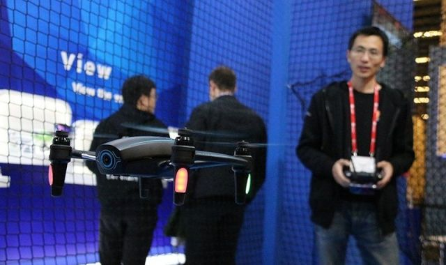 For the first time drones have their own space at the MWC