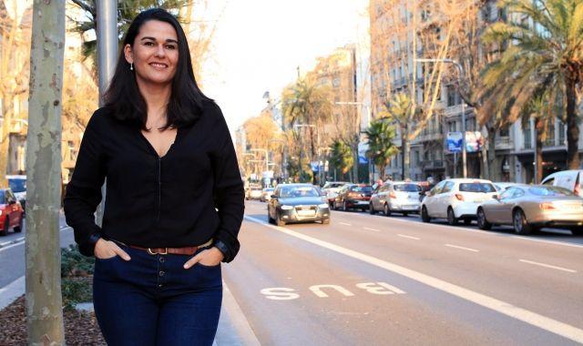 Mar Alarcón, CEO of the SocialCar platform