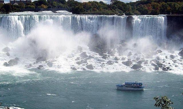 Les cascades del Niàgara també són visibles des de la webcam