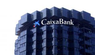 Un dels edificis corporatius de CaixaBank a Barcelona