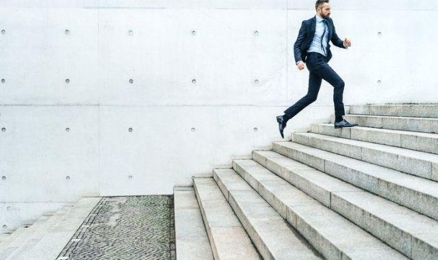 A Gaes van començar a incentivar la salut a l'empresa animant els treballadors a pujar per les escales
