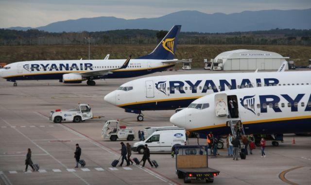 Més del 90% dels passatgers que passen per l'aeroport de Girona volen amb Ryanair